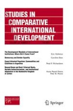Studies in Comparative International Development 3/2009