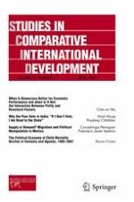 Studies in Comparative International Development 4/2012