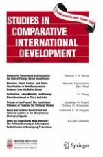 Studies in Comparative International Development 2/2016