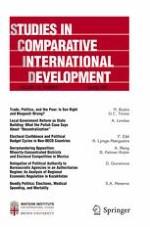 Studies in Comparative International Development 1/2017