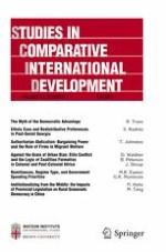 Studies in Comparative International Development 3/2017