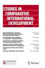Studies in Comparative International Development 1/2018