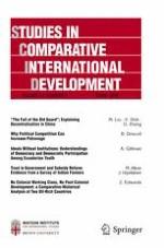 Studies in Comparative International Development 4/2018