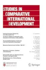 Studies in Comparative International Development 1/2019