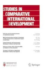 Studies in Comparative International Development 4/2019