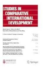 Studies in Comparative International Development 1/2021