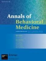 Annals of Behavioral Medicine 1/2003