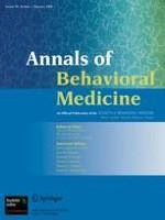 Annals of Behavioral Medicine 1/2008