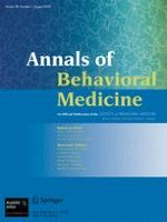 Annals of Behavioral Medicine 1/2009