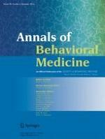 Annals of Behavioral Medicine 6/2016
