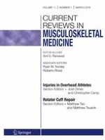 Current Reviews in Musculoskeletal Medicine 1/2018