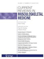 Current Reviews in Musculoskeletal Medicine 4/2020
