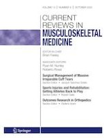 Current Reviews in Musculoskeletal Medicine 5/2020