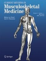 Current Reviews in Musculoskeletal Medicine 1/2013
