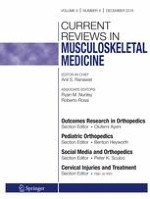 Current Reviews in Musculoskeletal Medicine 4/2016