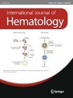 International Journal of Hematology 4/2019