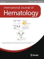 International Journal of Hematology 3/2020