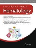 International Journal of Hematology 1/2002