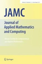 Journal of Applied Mathematics and Computing 1-2/2011