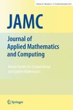 Journal of Applied Mathematics and Computing 1-2/2013