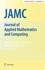 Journal of Applied Mathematics and Computing 1-2/2015