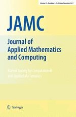 Journal of Applied Mathematics and Computing 1-2/2017
