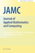 Journal of Applied Mathematics and Computing 1-2/2019