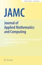 Journal of Applied Mathematics and Computing 1-2/2020