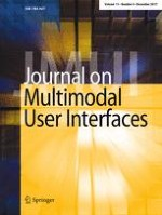 Journal on Multimodal User Interfaces 4/2017