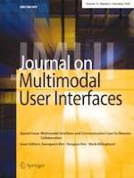 Journal on Multimodal User Interfaces 4/2020