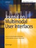 Journal on Multimodal User Interfaces 1-2/2012