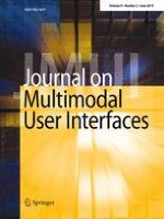 Journal on Multimodal User Interfaces 2/2015
