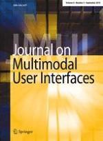 Journal on Multimodal User Interfaces 3/2015