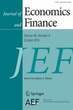 Journal of Economics and Finance 4/2016