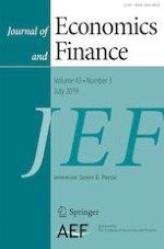 Journal of Economics and Finance 3/2019