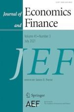 Journal of Economics and Finance 3/2021