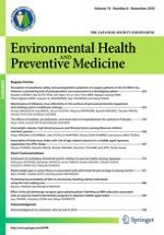 Environmental Health and Preventive Medicine 6/2010
