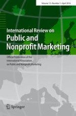 International Review on Public and Nonprofit Marketing 1/2016