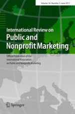 International Review on Public and Nonprofit Marketing 2/2017