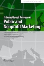 International Review on Public and Nonprofit Marketing 1/2019