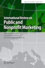 International Review on Public and Nonprofit Marketing 1/2020