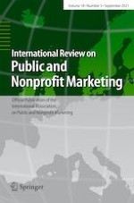 International Review on Public and Nonprofit Marketing 3/2021