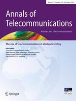 Annals of Telecommunications 7-8/2016