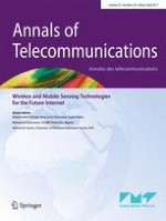 Annals of Telecommunications 3-4/2017