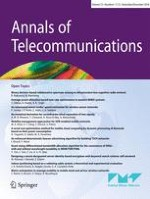 Annals of Telecommunications 11-12/2018