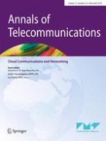 Annals of Telecommunications 3-4/2018