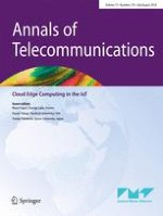 Annals of Telecommunications 7-8/2018