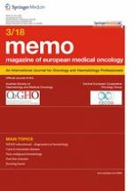 memo - Magazine of European Medical Oncology 3/2018