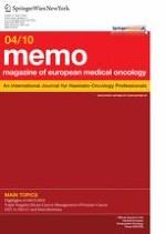 memo - Magazine of European Medical Oncology 4/2010