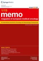 memo - Magazine of European Medical Oncology 1/2013